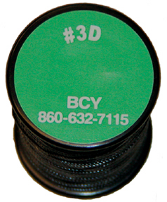 BCY #3D Serving Thread .016 Black