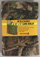 "H.S. Camo Burlap Blind 54""x12' - Corn Belt"